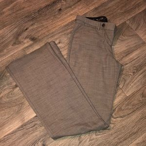 Express Editor dress pants, brown, size 2